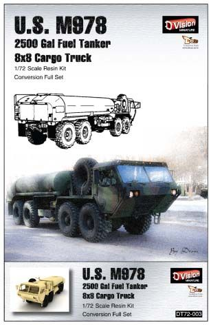 M978 2500 gal fuel tanker 8*8 cargo truck conversion