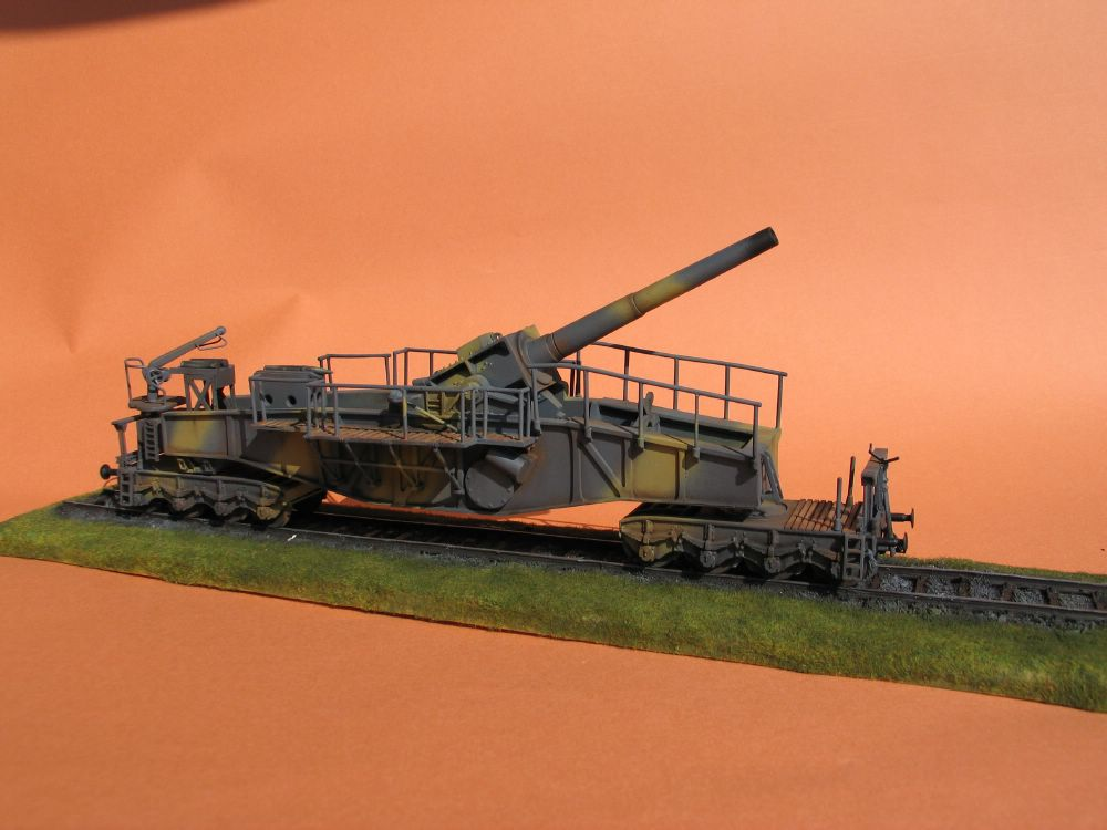 """Theodor Bruno"" German 24cm Railroad Gun"