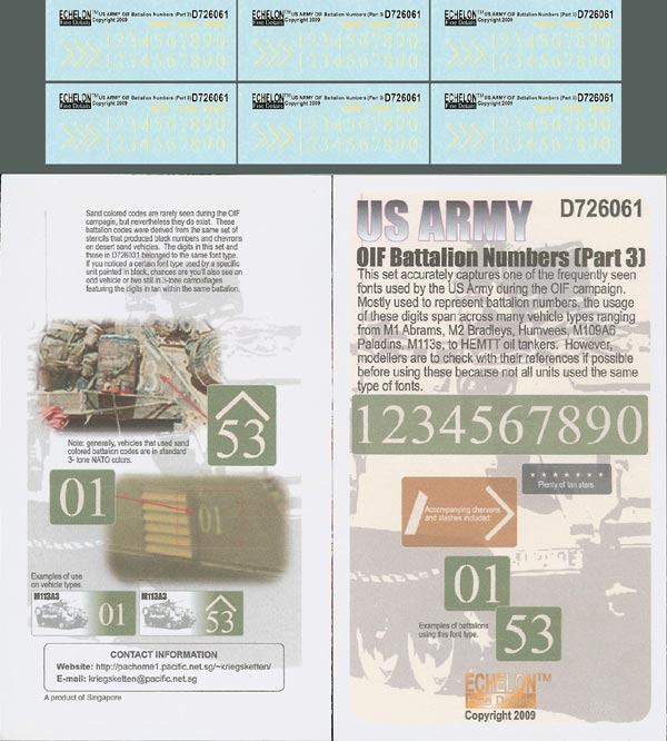 US Army OIF Battalion Numbers (Part 3)