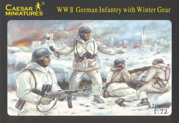 German Infantry with Winter Gear