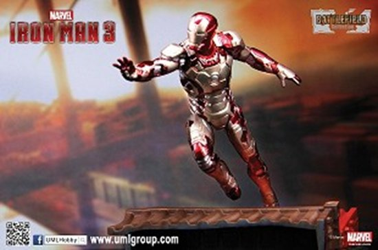 "3"" Iron Man 3 - Mark 42 - Prehensile Suit ""Mark XLII"" ver. 1"