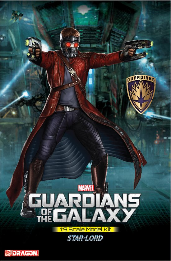 Guardians of The Galaxy - Star Lord, Model Kit