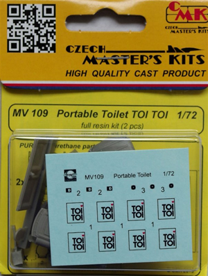 Portable toilet TOI TOI (2pc)
