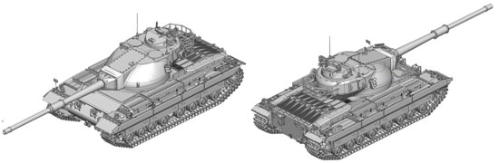 "British Heavy Tank Conqueror - ""Black Label Series"""